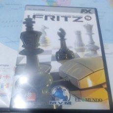 Videojuegos y Consolas: JUEGO DE PC ORDENADOR FX COLECCIÓN EL MUNDO FRITZ AJEDREZ. Lote 176588752