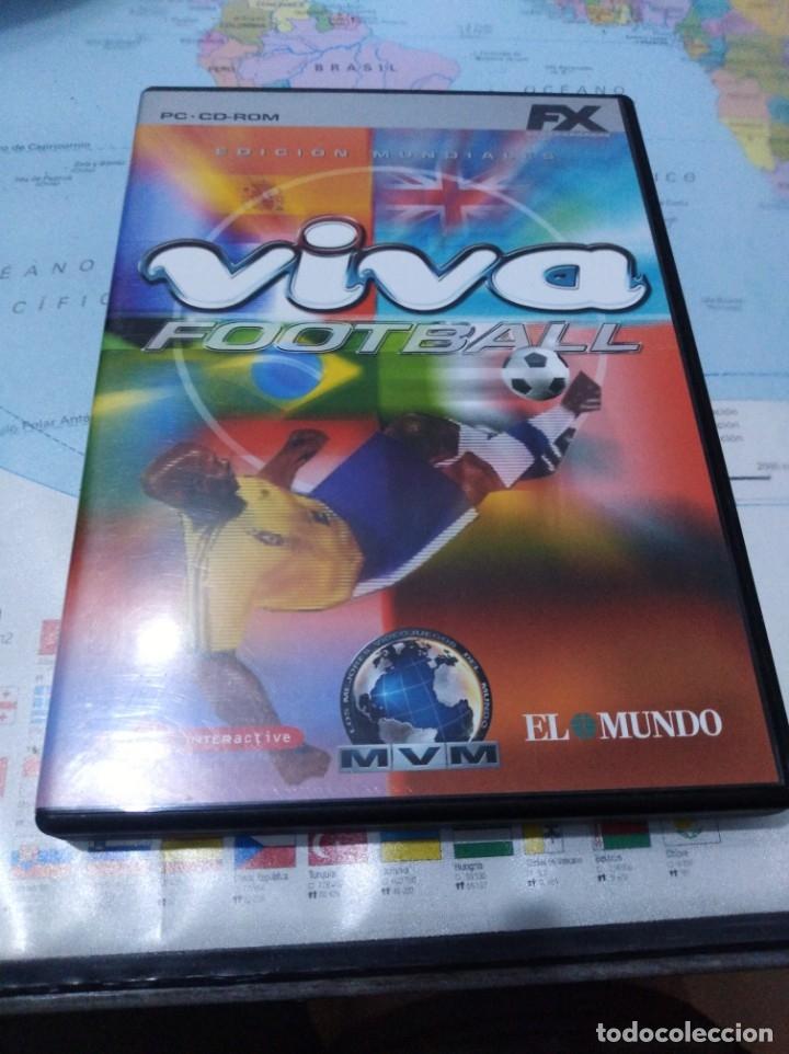 JUEGO DE PC ORDENADOR FX COLECCIÓN EL MUNDO VIVA FOOTBALL (Juguetes - Videojuegos y Consolas - PC)