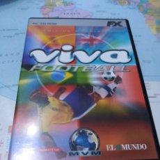 Videojuegos y Consolas: JUEGO DE PC ORDENADOR FX COLECCIÓN EL MUNDO VIVA FOOTBALL . Lote 176589068