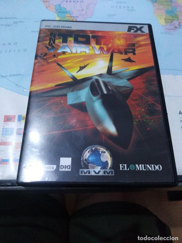 JUEGO DE PC ORDENADOR FX COLECCIÓN EL MUNDO TOTAL AIR WAR (Juguetes - Videojuegos y Consolas - PC)
