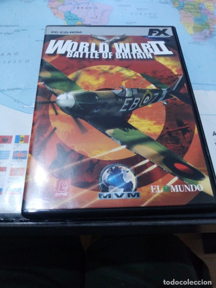 JUEGO DE PC ORDENADOR FX COLECCIÓN EL MUNDO WORLD WAR 2 (Juguetes - Videojuegos y Consolas - PC)