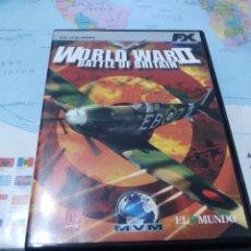 Videojuegos y Consolas: JUEGO DE PC ORDENADOR FX COLECCIÓN EL MUNDO WORLD WAR 2 . Lote 176589277