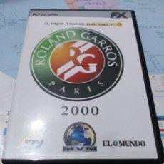 Videojuegos y Consolas: JUEGO DE PC ORDENADOR FX COLECCIÓN EL MUNDO ROLAND GARROS 2000 . Lote 176589348