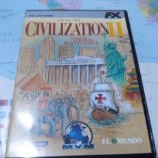 Videojuegos y Consolas: JUEGO DE PC ORDENADOR FX COLECCIÓN EL MUNDO CIVILIZATION 2 . Lote 176589574