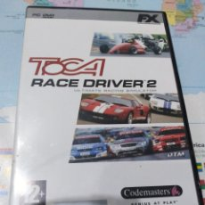 Videojuegos y Consolas: JUEGO DE PC ORDENADOR FX COLECCIÓN EL MUNDO TOCA RACE 2. Lote 176589932
