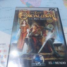 Videojuegos y Consolas: JUEGO DE PC ORDENADOR FX COLECCIÓN EL MUNDO EXCALIBUR . Lote 176590795