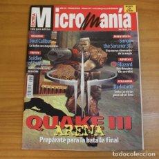 Jeux Vidéo et Consoles: MICROMANIA TERCERA EPOCA 60 QUAKE III ARENA, SOUL CALIBUR, SIMON THE SORCERER 3D... MICRO MANIA. Lote 176668294
