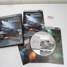 Videojuegos y Consolas: SUBMARINE TITANS - PC - COMPLETO CON INSTRUCCIONES - ELLIPSE STUDIOS 2001 - EXCELENTE ESTADO. Lote 176871817