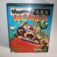 Videojuegos y Consolas: THEME PARK WORLD PC CAJA CARTÓN. Lote 177103649