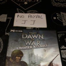Videojuegos y Consolas: WARHAMMER 40000 DAWN OF WAR WINTER ASSAULT PC CD ROM. Lote 177206478