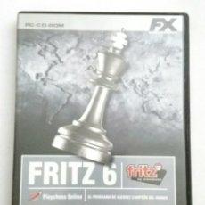 Videojuegos y Consolas: FRITZ 6 JUEGO PC. Lote 177267999