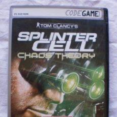 Videojuegos y Consolas: SPLINTER CELL. CHAOS THEORY. PC. Lote 177696074