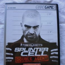 Videojuegos y Consolas: SPLINTER CELL. DOUBLE AGENT. PC. Lote 177696125