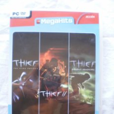 Videojuegos y Consolas: THIEF. TRIPLE PACK. PC. Lote 177696238