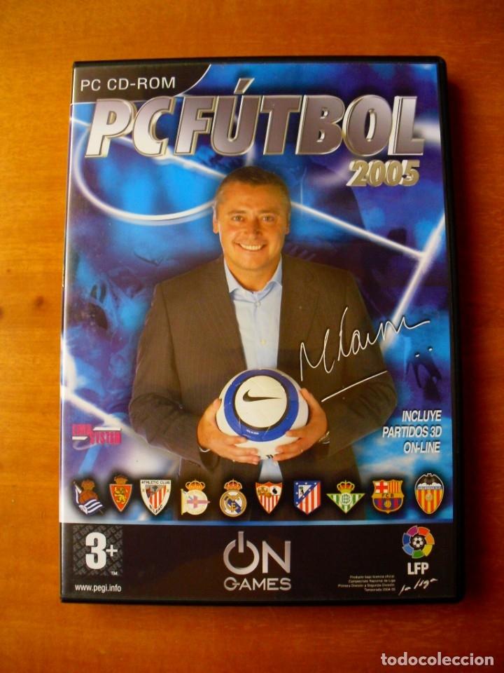 PC FUTBOL 2005 (PC CD-ROM) (Juguetes - Videojuegos y Consolas - PC)
