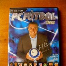 Videojuegos y Consolas: PC FUTBOL 2005 (PC CD-ROM). Lote 122671339