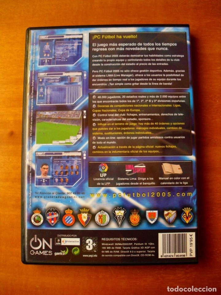 Videojuegos y Consolas: PC Futbol 2005 (PC CD-ROM) - Foto 2 - 122671339