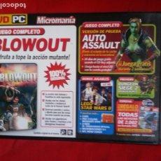 Videojuegos y Consolas: BLOWOUT. Lote 178598962