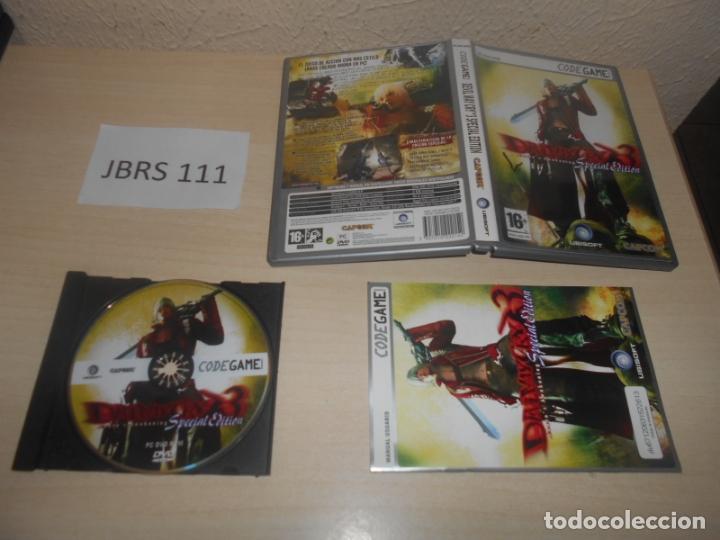 PC - DEVIL MAY CRY 3 SPECIAL EDITION , EDICION ESPAÑOLA , COMPLETO (Juguetes - Videojuegos y Consolas - PC)