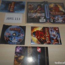 Videojuegos y Consolas: PC . JADE EMPIRES - SPECIAL EDITION , EDICION ESPAÑOLA , COMPLETO. Lote 178666632