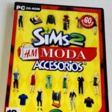 Videojuegos y Consolas: PC CD-ROM / LOS SIMS 2, H&M MODA, ACCESORIOS - EA 2007. Lote 178725581