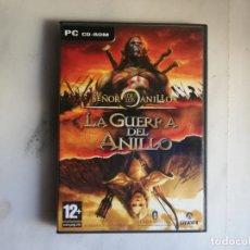 Videojuegos y Consolas: JUEGO PC ROM EL SEÑOR DE LOS ANILLOS LA GUERRA DEL ANILLO. Lote 178885501