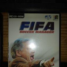 Videojuegos y Consolas: FIFA SOCCER MANAGER PC. Lote 179084013