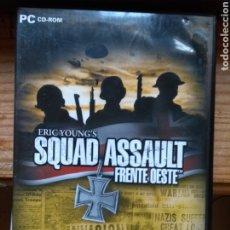 Videojuegos y Consolas: SQUAD ASSAULT FRENTE OESTE PC. Lote 179086570