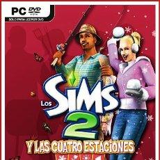Videojuegos y Consolas: LOS SIMS 2 Y LAS CUATRO ESTACIONES DISCO DE EXPANSIÓN PC. Lote 179126278