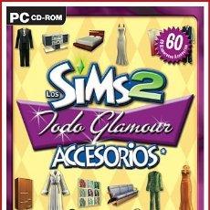 Videojuegos y Consolas: LOS SIMS 2 TODO GLAMOUR PC. Lote 179126282