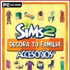 Videojuegos y Consolas: LOS SIMS 2 DECORA TU FAMILIA ACCESORIOS PC. Lote 179126286