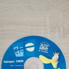 Videojuegos y Consolas: JUEGOS 2004-PC CD ROM-APP INFORMÁTICA-AÑO 2004-FUNCIONANDO-DIFÍCIL.. Lote 179202848