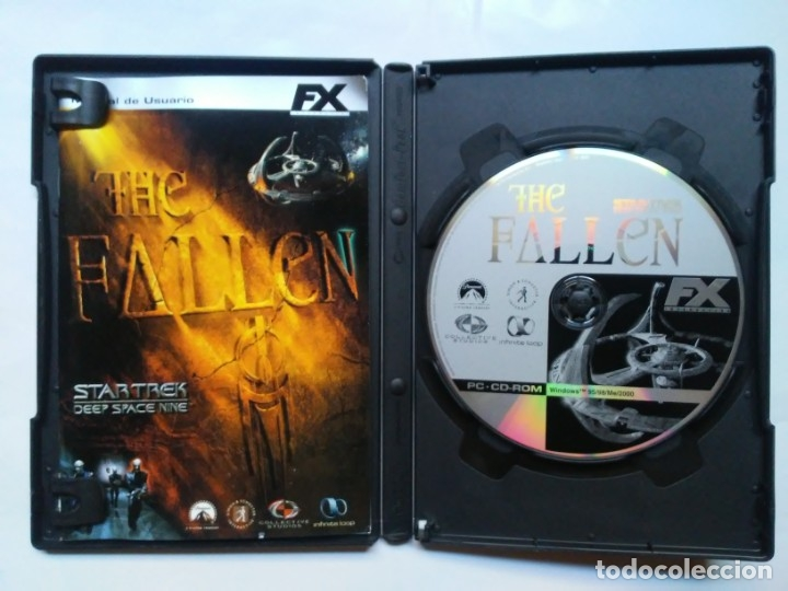 Videojuegos y Consolas: The Fallen Star Trek Deep Space Nine PC CD-ROM FX - Foto 5 - 179552300