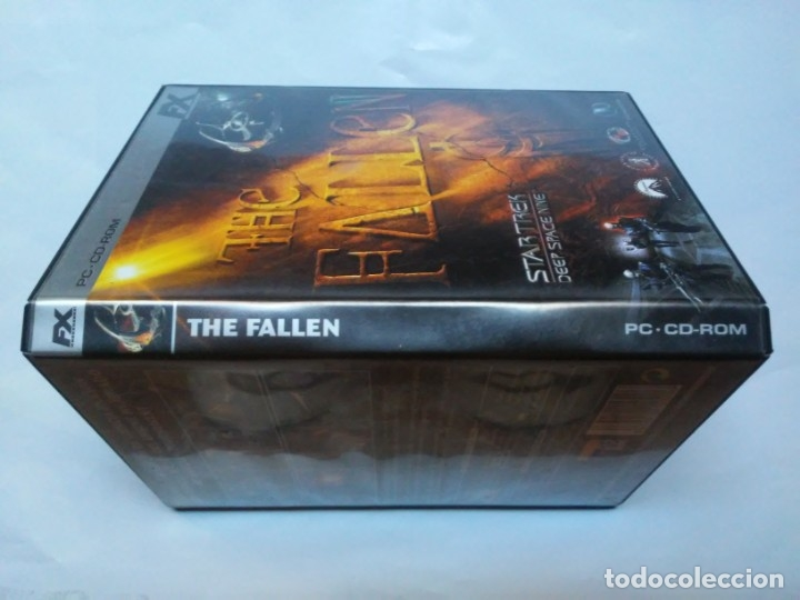 Videojuegos y Consolas: The Fallen Star Trek Deep Space Nine PC CD-ROM FX - Foto 4 - 179552300