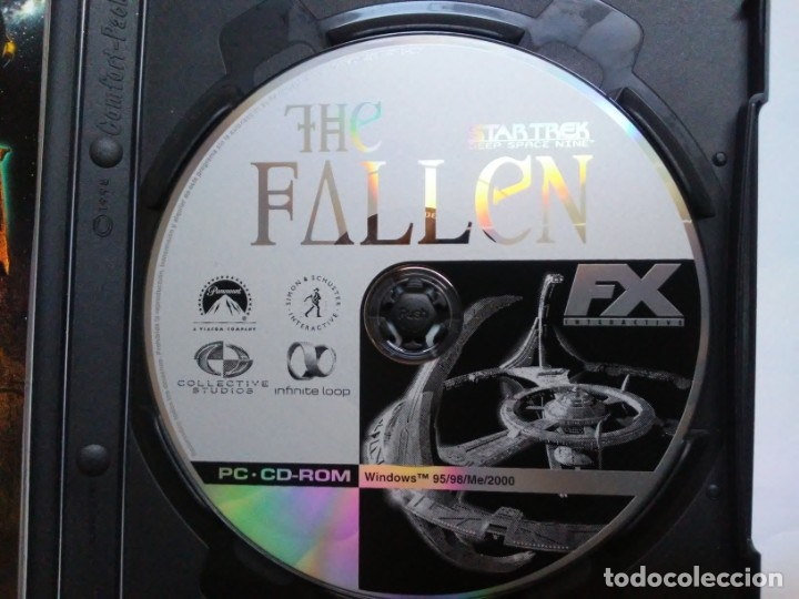 Videojuegos y Consolas: The Fallen Star Trek Deep Space Nine PC CD-ROM FX - Foto 8 - 179552300