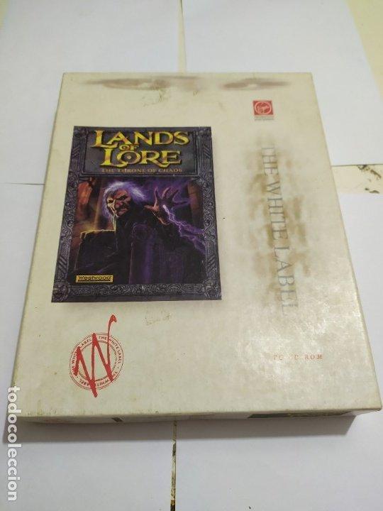 JUEGO PC ANTIGUO LANDA OF LORE VIRGIN CAJA GRANDE (Juguetes - Videojuegos y Consolas - PC)