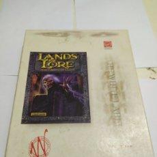 Videojuegos y Consolas: JUEGO PC ANTIGUO LANDA OF LORE VIRGIN CAJA GRANDE. Lote 179949946