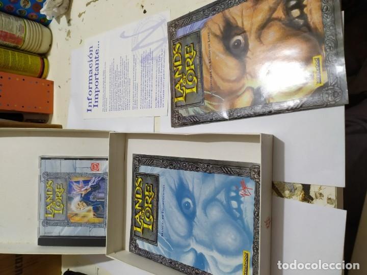 Videojuegos y Consolas: Juego pc antiguo Landa of Lore Virgin caja grande - Foto 2 - 179949946