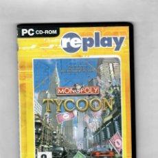 Videojuegos y Consolas: MONOPOLY TYCOON - PC CD-ROM - ESTUCHE CAJA SLIM. Lote 49871717