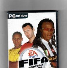 Videojuegos y Consolas: FIFA -FOOTBALL 2003 [PC CD-ROM ]MANUAL ESPAÑOL -EN CASTELLANO. Lote 49672556