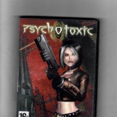 Videojuegos y Consolas: PSYCHO TOXIC [DVD- ROM FOR PC] - SEGUNDA MANO, COMO NUEVO - MANUAL INCLUIDO. Lote 49697370