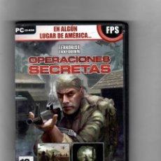 Videojuegos y Consolas: OPERACIONES SECRETAS [PC CD-ROM] MANUAL INCLUIDO - SEGUNDA MANO, COMO NUEVO. Lote 49699505
