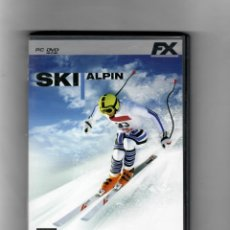 Videojuegos y Consolas: SKI ALPIN [PC DVD] SEGUNDA MANO, COMO NUEVO MANUAL INCLUIDO. Lote 49699298