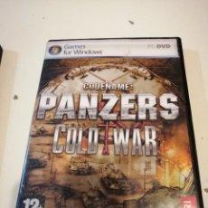 Videogiochi e Consoli: G-CDM54 PC CDROM CODENAME PANZERS COLD WAR. Lote 180206601