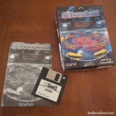 Videojuegos y Consolas: JUEGO PC SILVERBALL COMPLETO, DISQUETE, MANUAL, CAJA. Lote 180235062