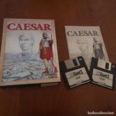 Videojuegos y Consolas: JUEGO PC CAESAR COMPLETO, 2 DISQUETES, MANUAL Y CAJA. Lote 180236005