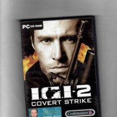 Videojuegos y Consolas: COVERT STIKE - I.G.I.2 - PC CD-ROM -2 DVD - - SEGUNDA MANO, COMO NUEVO. Lote 54873198