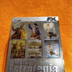 Videojuegos y Consolas: AMERICAN CONQUEST, IMPERIVM III, PATRICIAN III. MULTI ESTRATEGIA DELUXE DVD EDICIÓN COLECCIONISTA. Lote 180289585