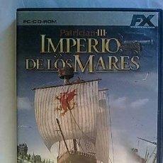 Videojuegos y Consolas: JUEGOS PARA PC PURO : EL IMPERIO DE LOS MARES: PATRICIAN III. Lote 180481547