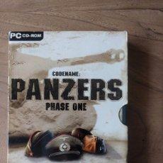 Videojuegos y Consolas: JUEGOS PARA PC PURO : PANZERS PHASE ONE. Lote 180894382